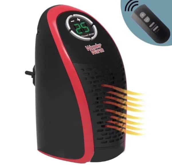 Компактный электрообогреватель с TomTop