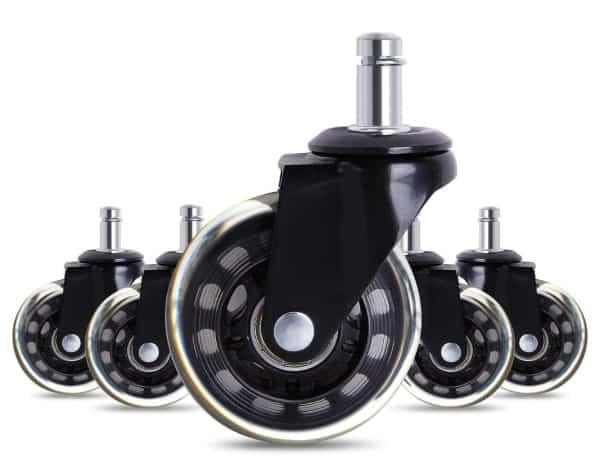 Безопасные силиконовые колёсики для кресел