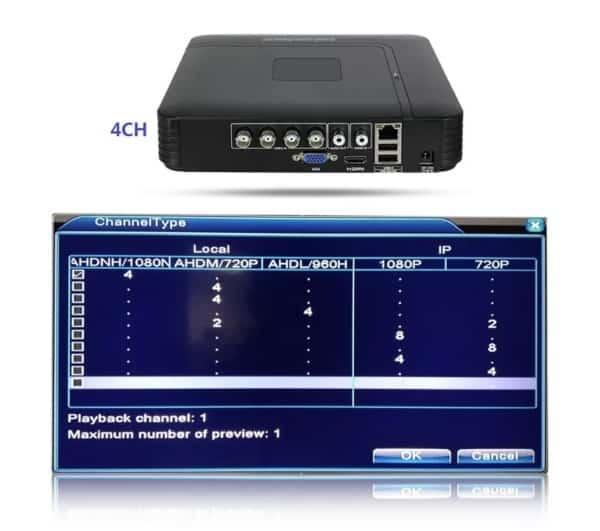 Универсальный регистратор Hiseeu HSY-A1004NS