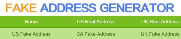 Генератор случайных почтовых адресов в США