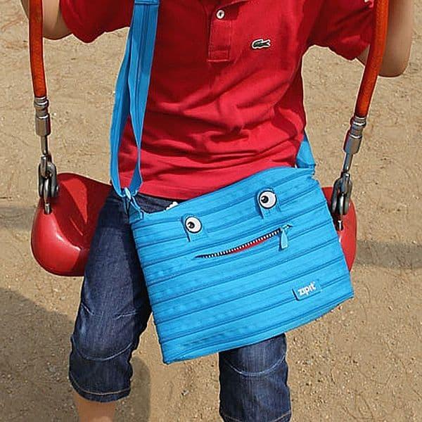 Детская сумка в виде монстра