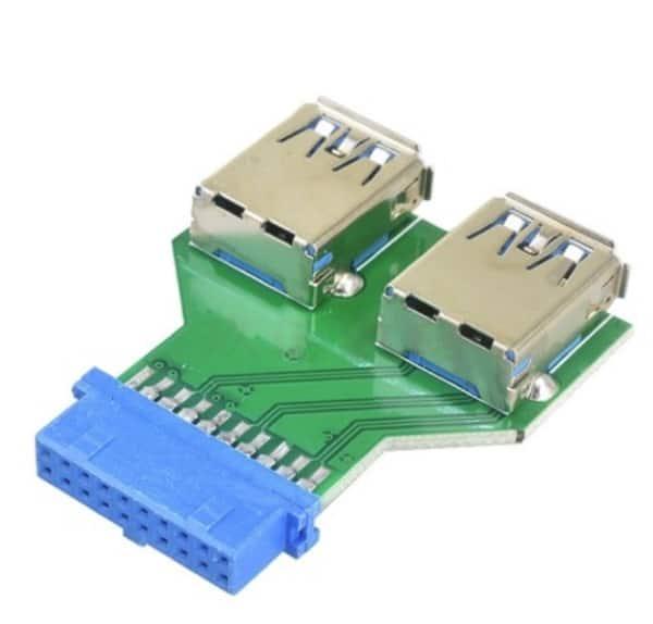 Внутренние разветвители USB для материнских плат