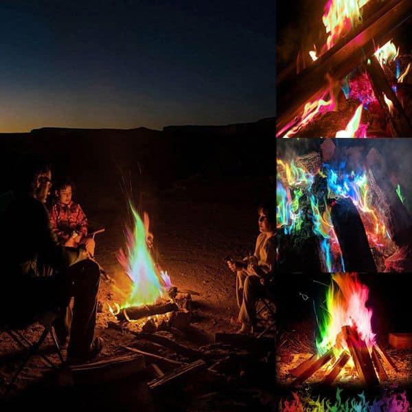 Порошок для получения цветного огня