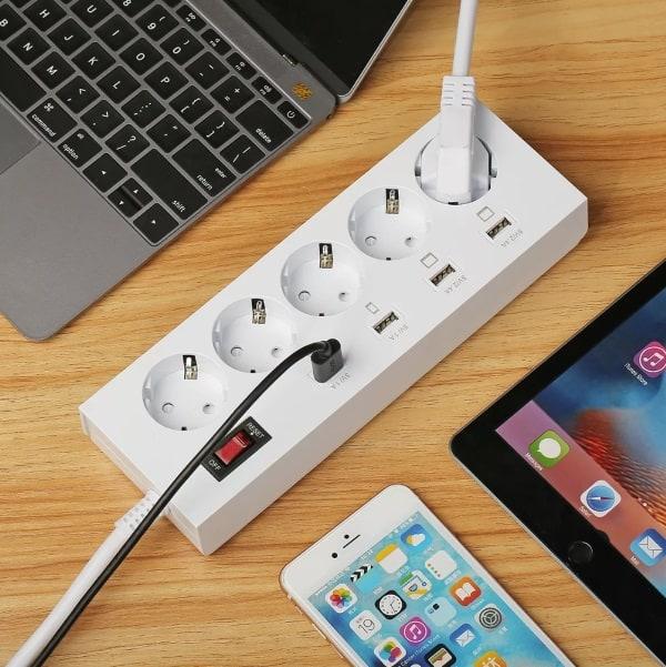 Сетевой разветвитель с USB-портами