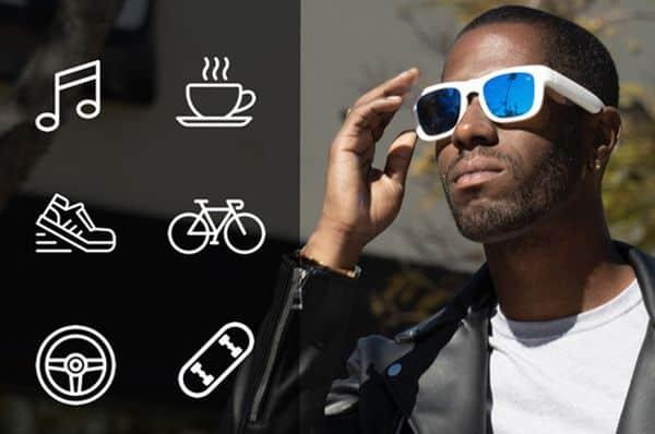Cолнцезащитные очки со встроенной гарнитурой Mutrics