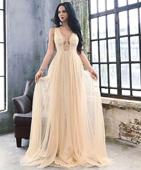 Отзыв на недорогое платье для выпускного с Aliexpress
