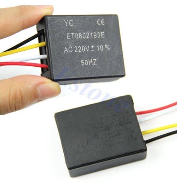 Доработка сенсорного выключателя