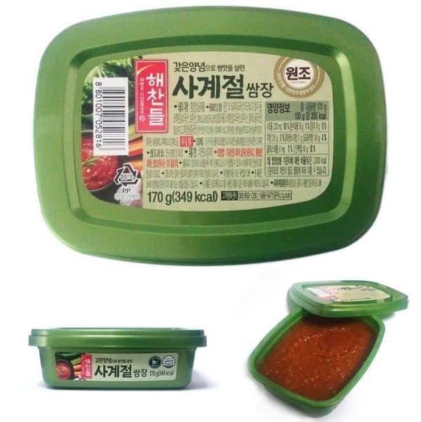 Соевая паста из Кореи, купленная на Ebay