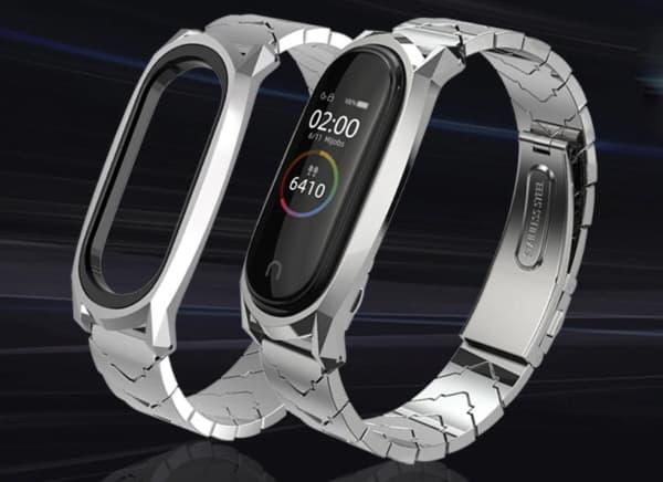 Солидный металлический браслет для Xiaomi Mi Band 4