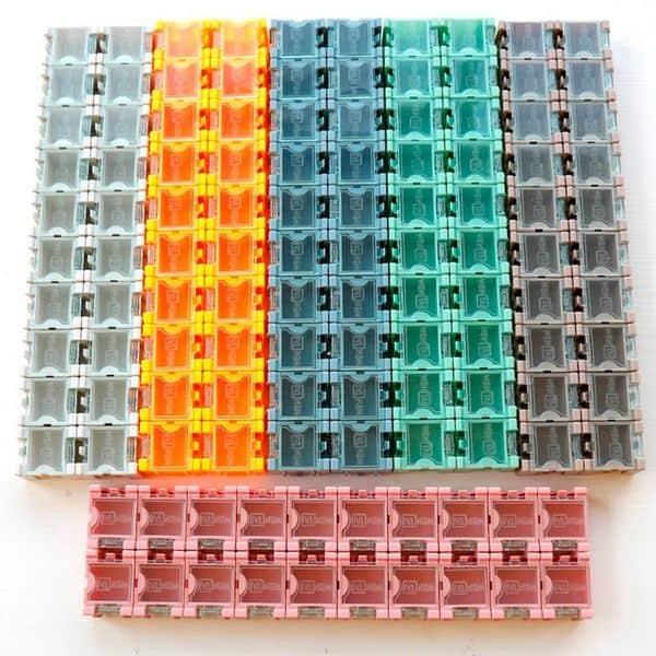 Модульный органайзер для хранения электронных компонентов