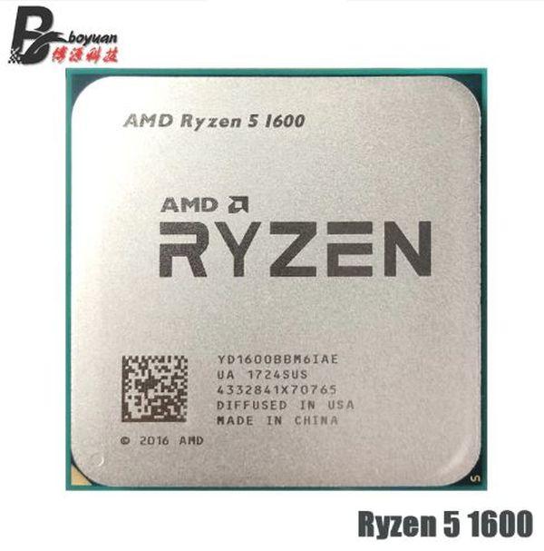 Опыт покупки процессора AMD Ryzen 5 1600 на Aliexpress