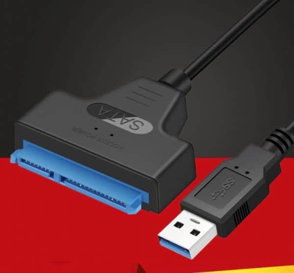 Обзор переходника SATA-USB с Aliexpress