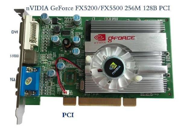Ретро-обзор видеокарт GeForce FX5500 с Aliexpress