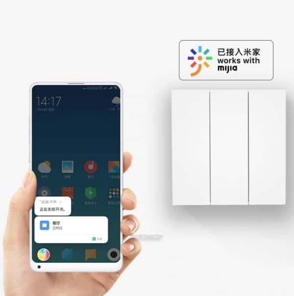 Выключатель света от Xiaomi