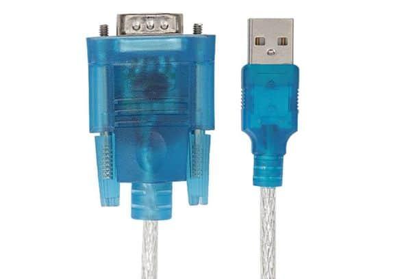 Переходник RS232-USB и способы его применения