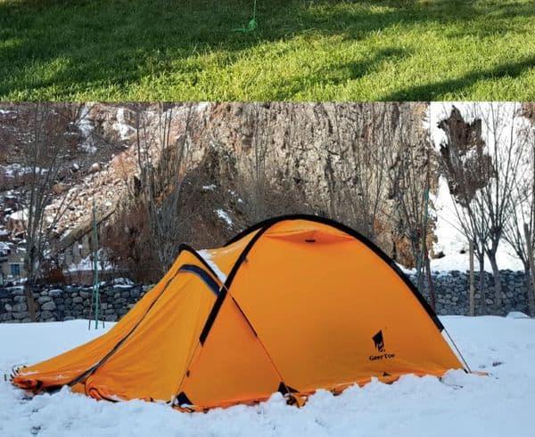 Палатка GeerTop Alpine с Aliexpress