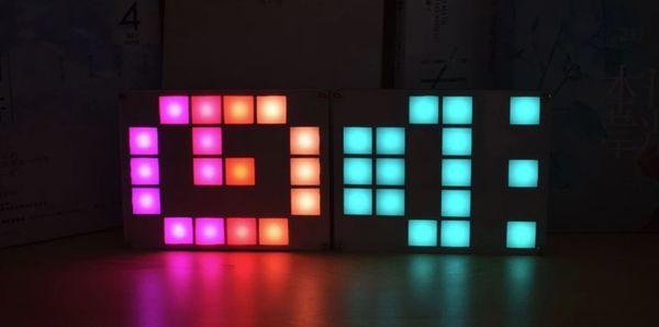 Набор для сборки RGB-часов Geekcreit