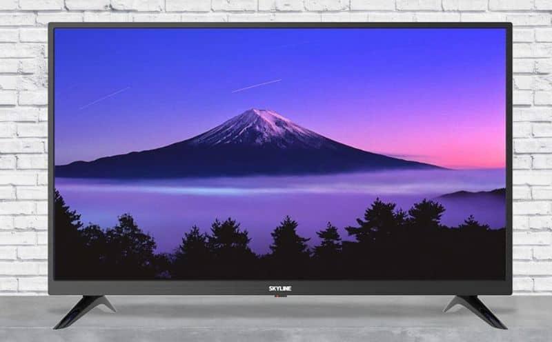 Обзор телевизора SKYLINE 32YT5900 со встроенным цифровым декодером