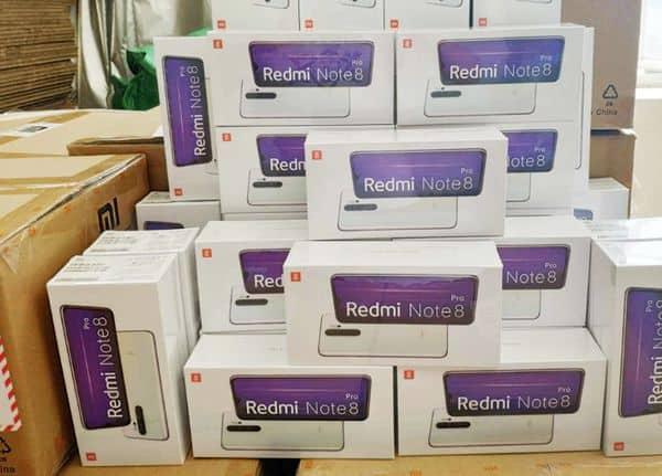 Xiaomi Redmi Note 8 Pro, заказанный на Aliexpress