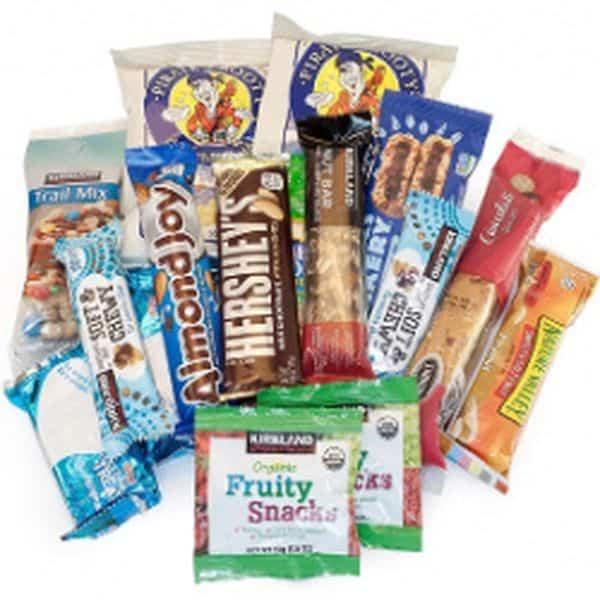 Обзор конфетного набора из США