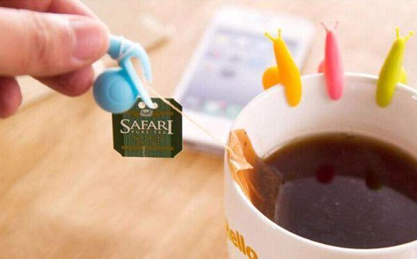 Силиконовые улитки для чайных пакетов