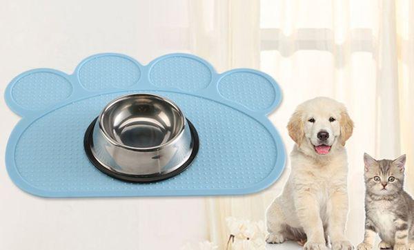 Коврик для кормления домашних животных