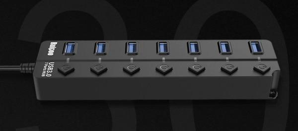 USB-хаб на 7 устройств