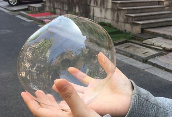 Комплект для создания мыльных пузырей