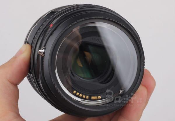 Маркоадаптер для объективов Canon