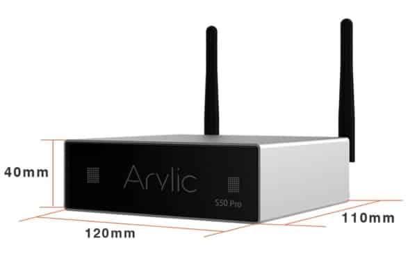 Предусилитель Arylic S50 Pro, купленный на Aliexpress