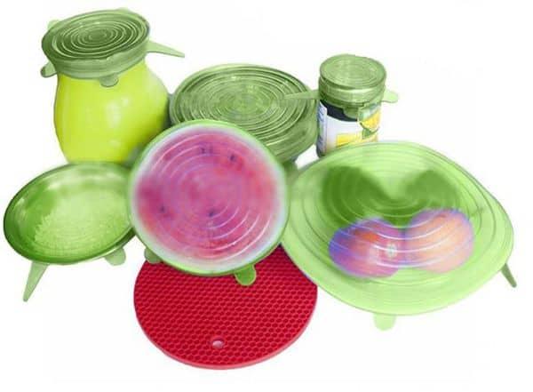 Крышки для кастрюль и тарелок