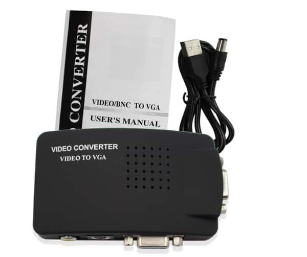 Конвертер AV - VGA, купленный на Aliexpress
