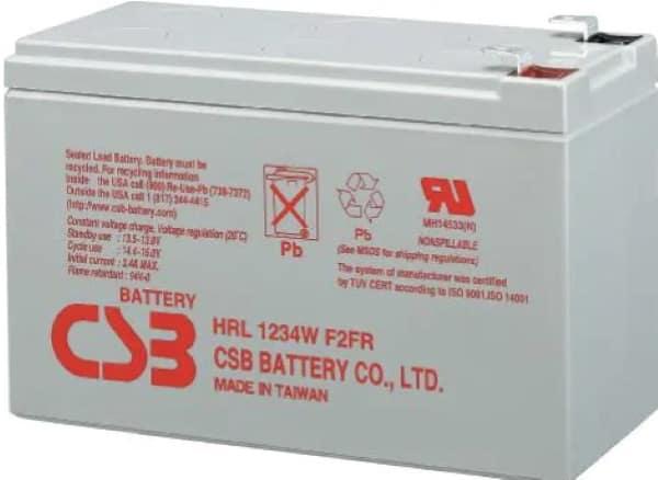 Мощная батарея CSB HRL-1234W-F2-FR