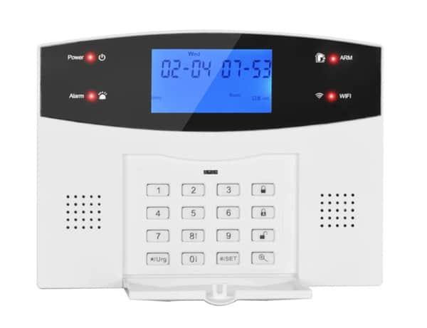 Охранная система с поддержкой Wi-Fi и GSM