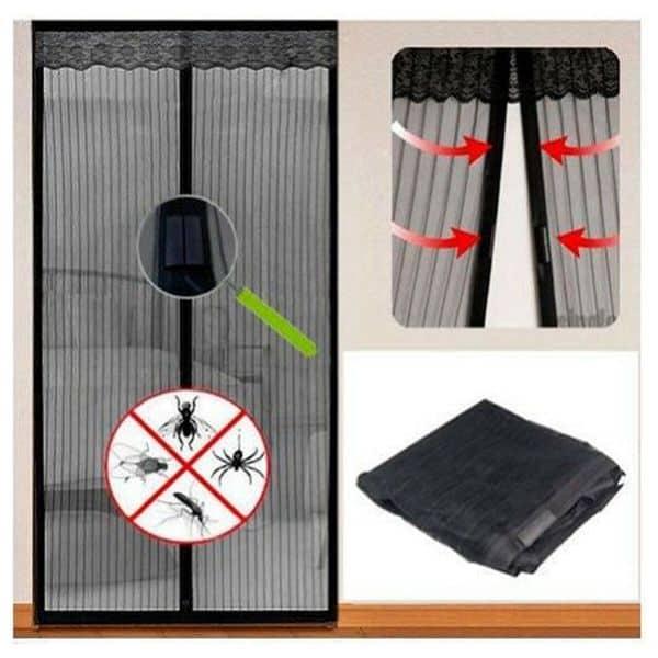Магнитные занавески для защиты от комаров