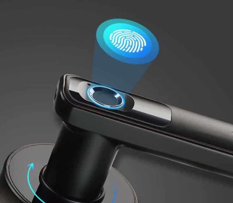 Ручка с биометрическим датчиком