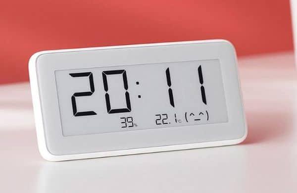 Будильник Xiaomi со встроенным термометром и Bluetooth