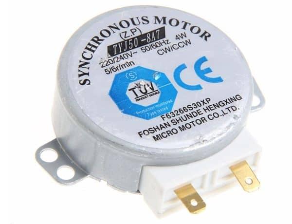 Ремонт микроволновки с использованием моторчика, купленного на Aliexpress