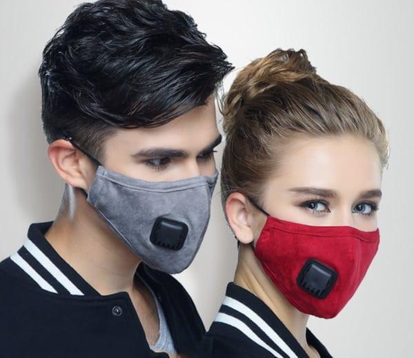 Многоразовая маска со сменным фильтром KN95
