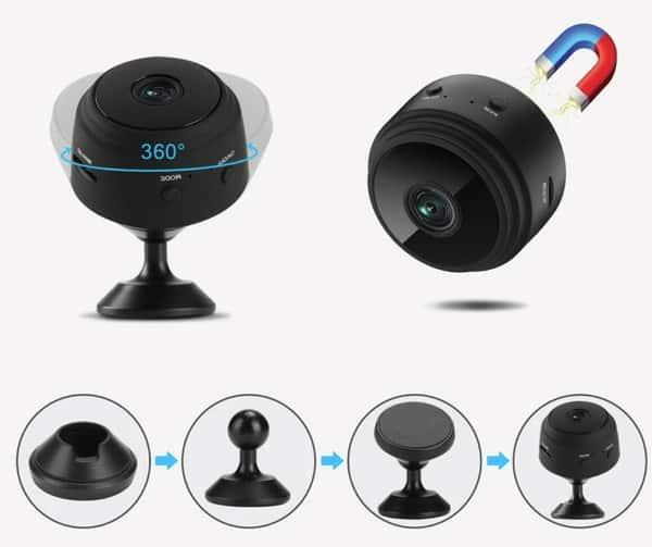 Миниатюрная IP-камера с аккумулятором