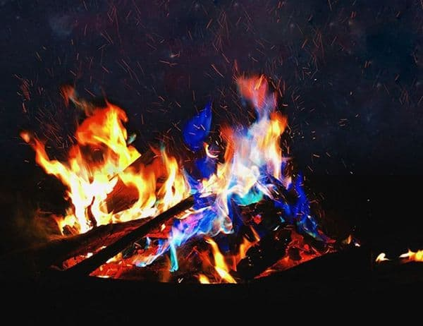 Цветной огонь Magic Fire