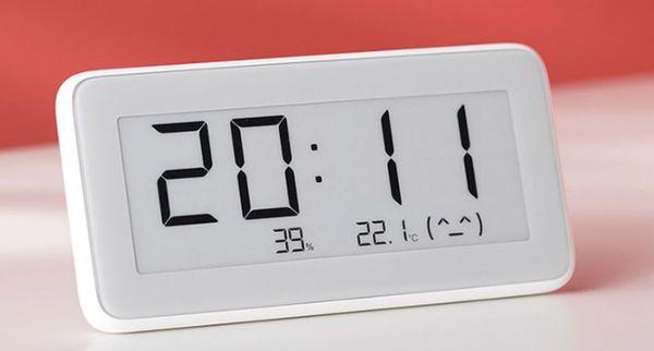 Многофункциональные комнатные часы Xiaomi Mijia BT4.0