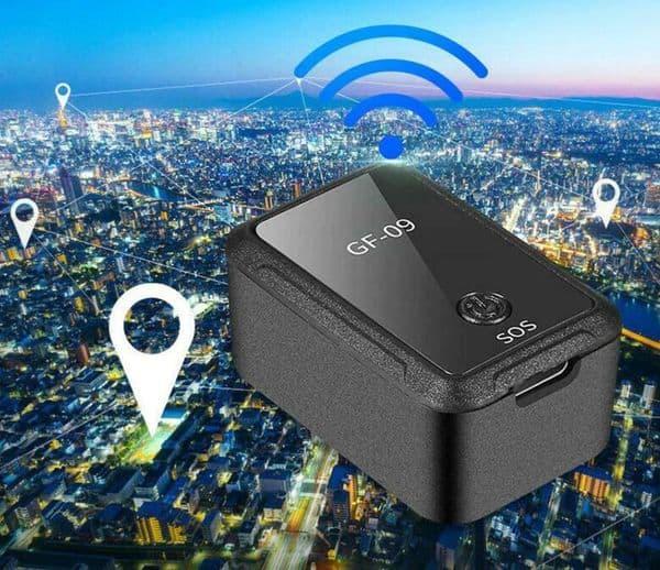 Портативный GPS/GSM трекер GF-09