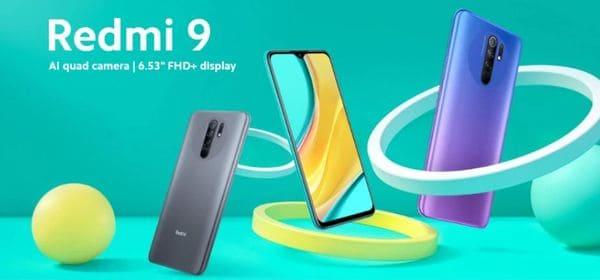 Бюджетный смартфон с NFC Redmi 9
