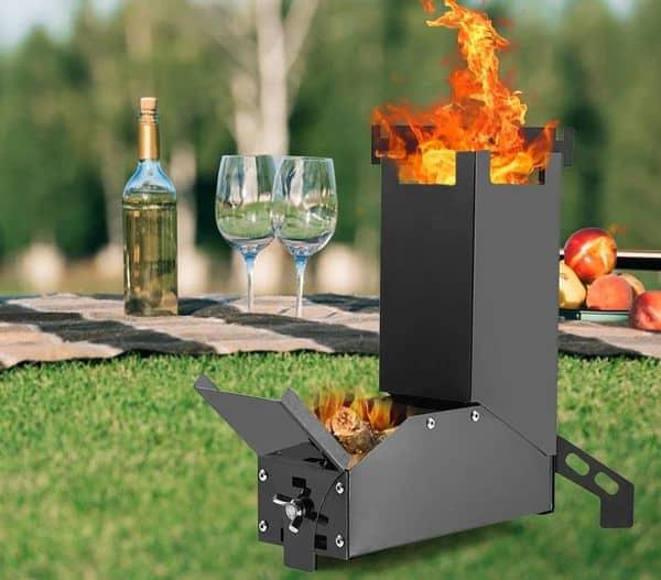 Миниатюрная печка, купленная на BangGood