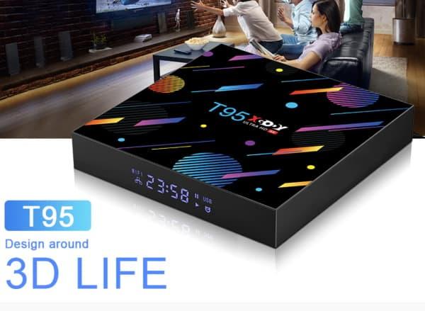 Бюджетный ТВ-бокс с часами Xgody T95