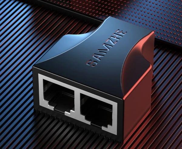 Ethernet-сплиттер, купленный на Aliexpress