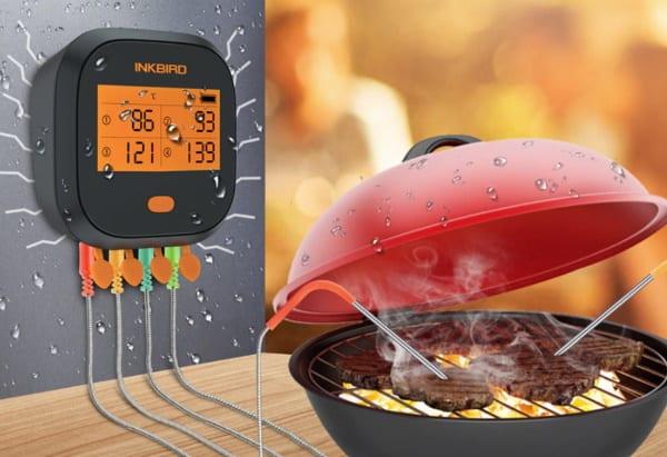 Кулинарный термометр Inkbird IBBQ-4T с Wi-Fi