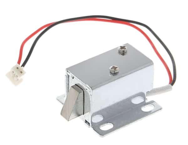Электромеханическая защёлка для мебели