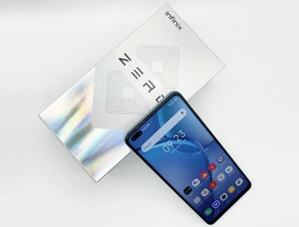 Знакомство с телефоном Infinix Zero 8